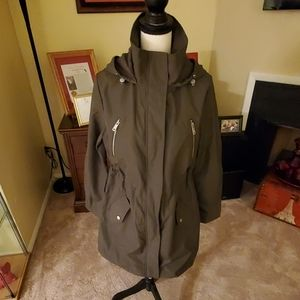 Ladiesl All Weather Sporty Coat Olive Green